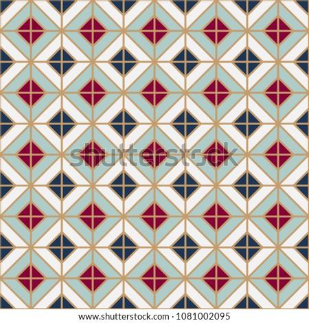 simple floor tile pattern