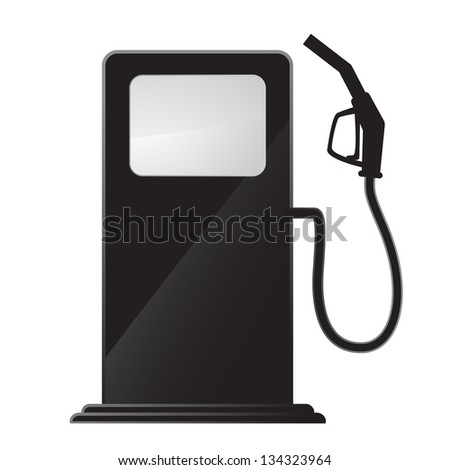 simple gas station icon