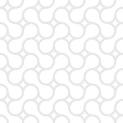 Simple geometric vector pattern - lines on white background