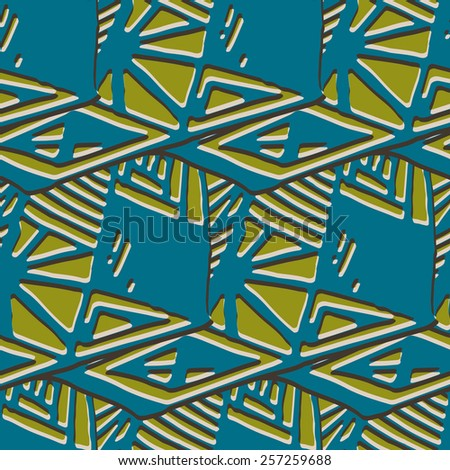 Simple geometrical background in a retro style. Vector illustration