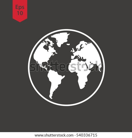 vector images illustrations and cliparts simple globe icons earth