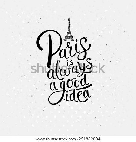 simple graphic design for paris