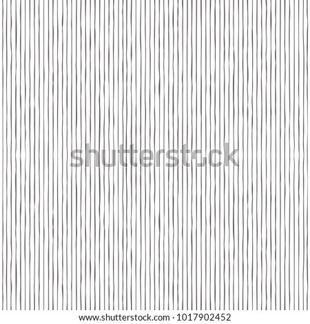 simple hand drawing black vertical lines seamless pattern, background, texture, wallpaper, banner, labels, vector design