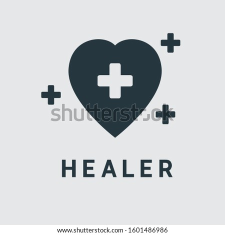 Simple Healer Logo or Icon Design