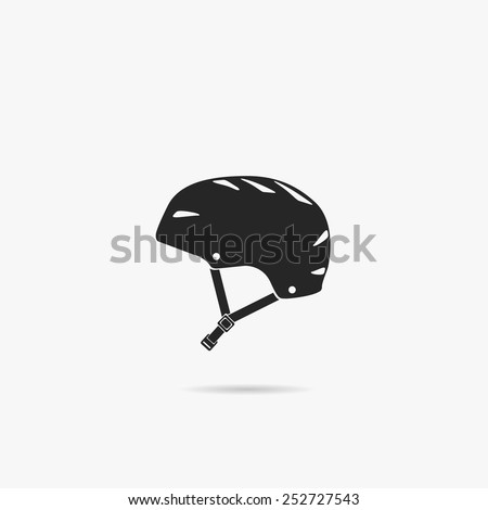 simple icon helmet