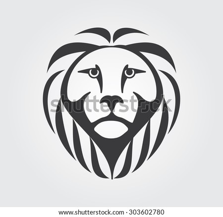 lion head icon - download free vector art, stock graphics & images