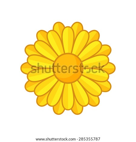 simple illustration of yellow