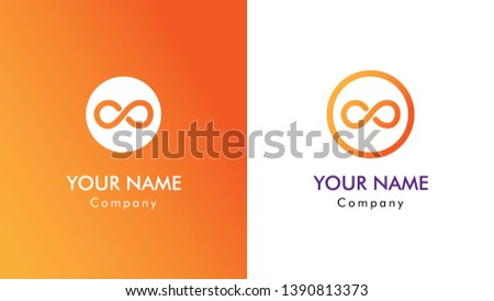 58eab1f03a0b8 simple infinity symbol, flat line icon. logo for business company.  Corporate identity design