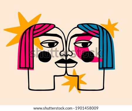 simple kiss image surreal