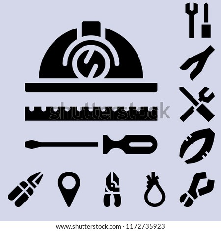 Simple modern set of  pliers icons such as pliers,tools. pliers icons use for seb and mobile.