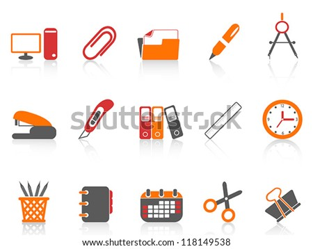 simple office tools icon