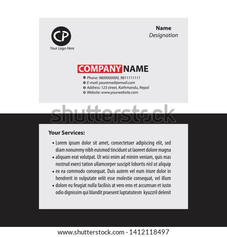 Vcard Newest Royalty-Free Vectors | Imageric com