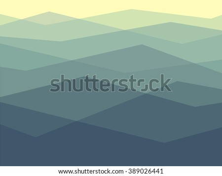 simple pattern of mountains in