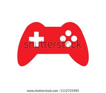 simple red sony gaming