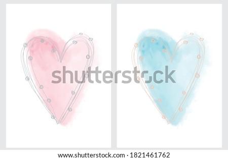 simple romantic vector
