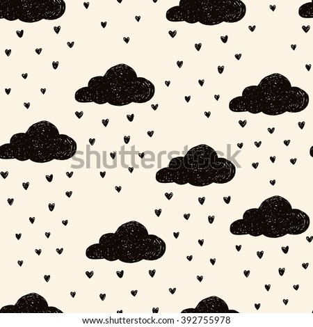 simple seamless pattern with