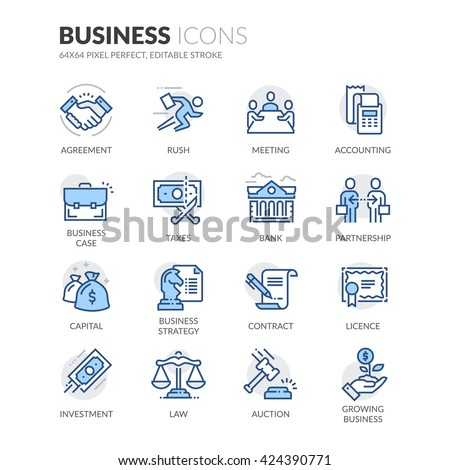 simple set of business related