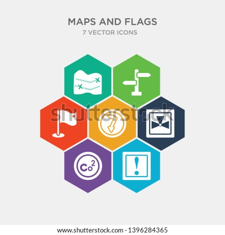simple set of caution, co2, radiactive, electrocutation danger icons, contains such as icons maps and flags, vintage, treasure map with x and more. 64x64 pixel perfect. infographics vector