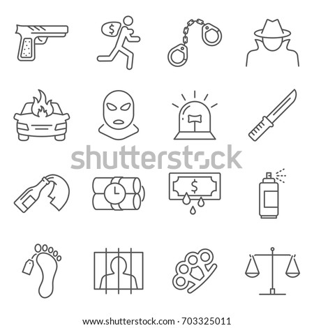 simple set of crime related