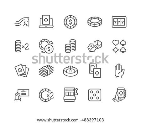 simple set of gambling related