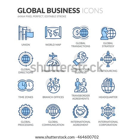 simple set of global business