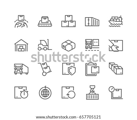 simple set of package delivery