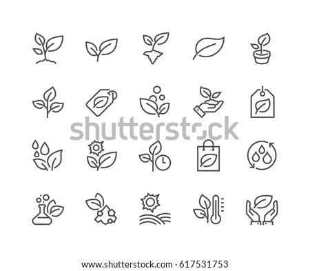 simple set of plants related...
