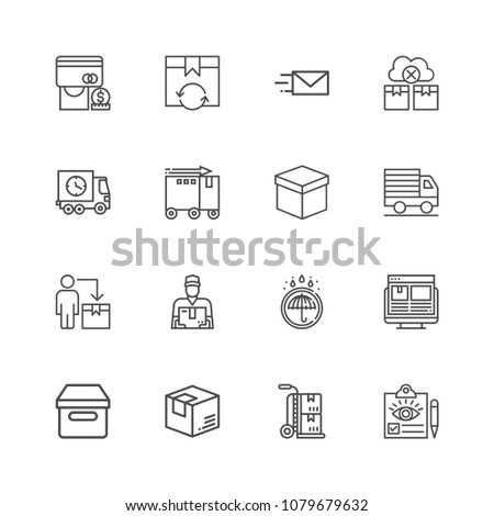 Simple Set of Public Transport Related Vector Line Icons. Contains such Icons as Taxi, Train, Tram and more. Editable Stroke. Pixel Perfect. #1079679632