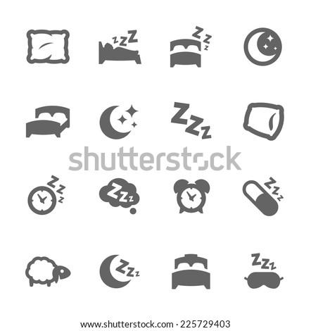 simple set of sleep related