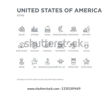 simple set of united states of