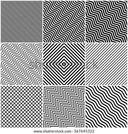 simple slanted black lines