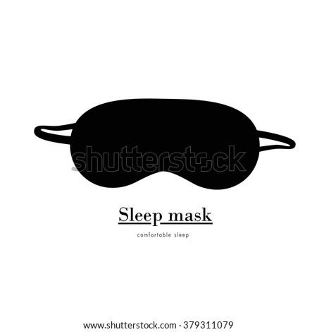 simple sleep mask  black sleep