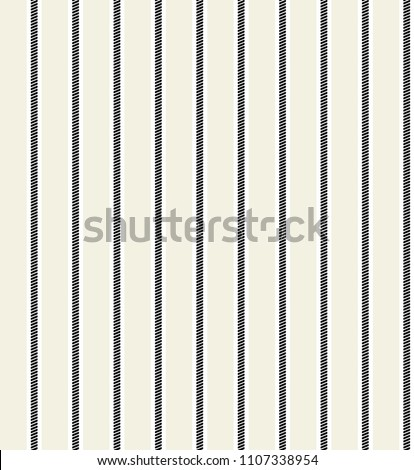 Simple stripe seamless pattern vertical parallel. Vector pattern stripe abstract background.