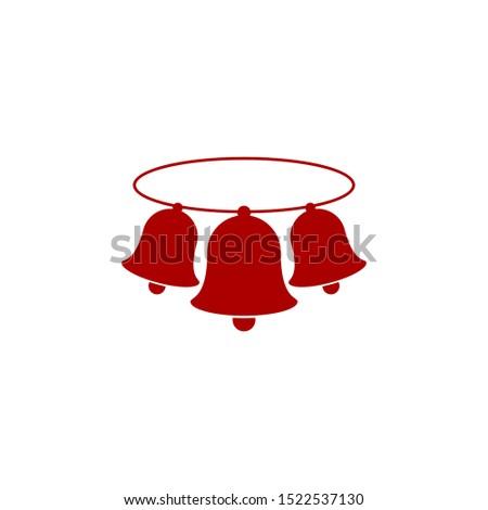 simple three christmas bells