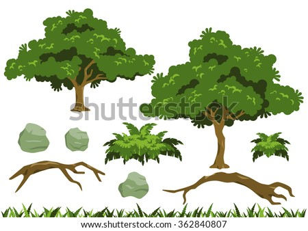 simple tree vectors inspired by