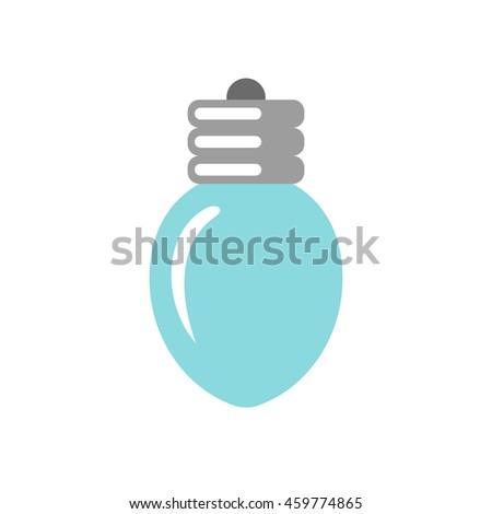 simple vector christmas light