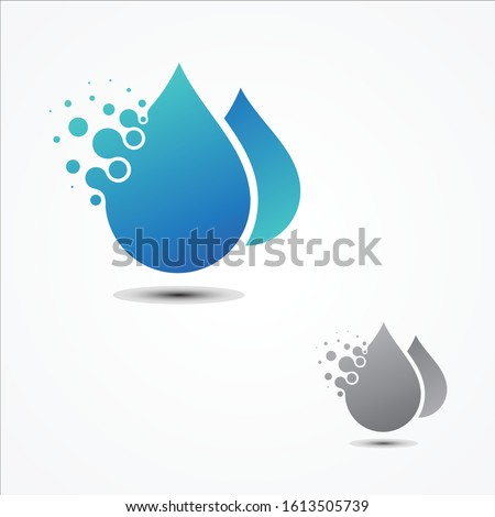 simple vector droplet pixel