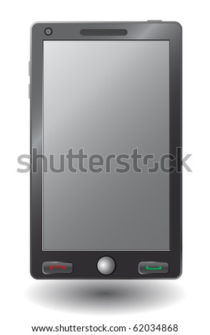 Simple vector smart phone