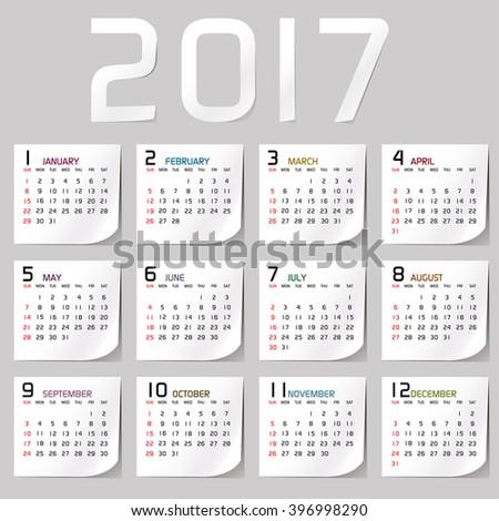 stock-vector-simple-year-vector-calendar-calendar-design-calendar-vertical-week-starts-with