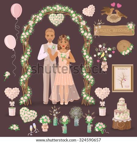 simplified image of bridegroom