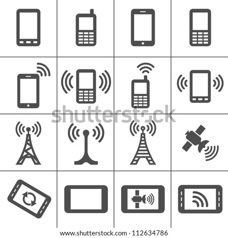simplus icons series mobile