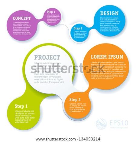 simply minimal infographic