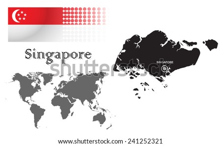 Free Info-Graphic Design Of Singapore Illustration - Download Free ...