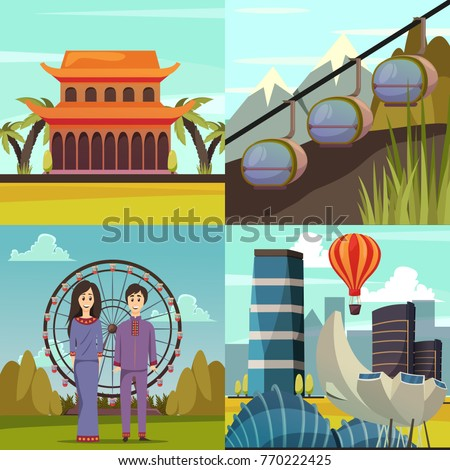 singapore landmarks collection