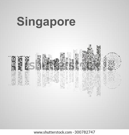 singapore skyline  for your