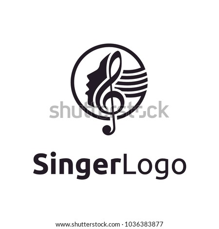 Singer / Choir logo design inspiration