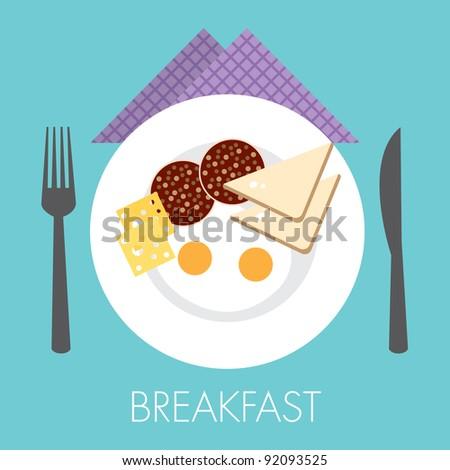 single big breakfast with double egg