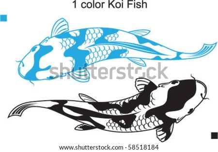 Single Color Koi Fish