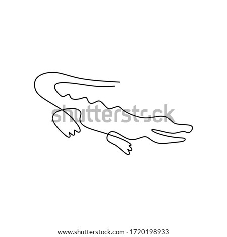 Line Dancing Lizard Pin
