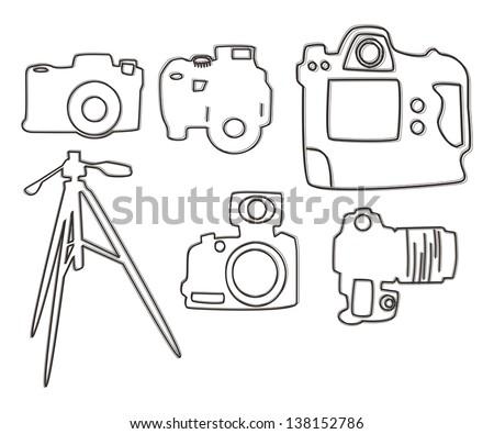 Camera Lens Drawings